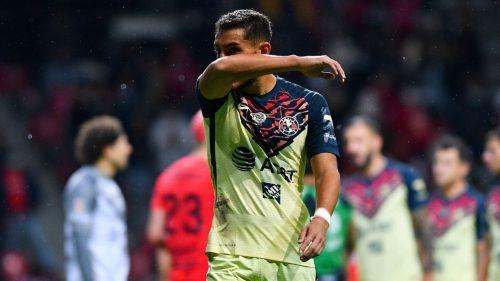 Cáceres fue expulsado vs Toluca