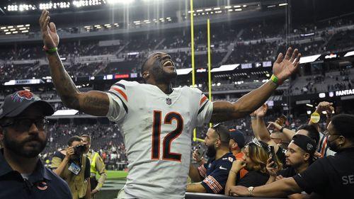 Robinson festeja la victoria sobre Raiders
