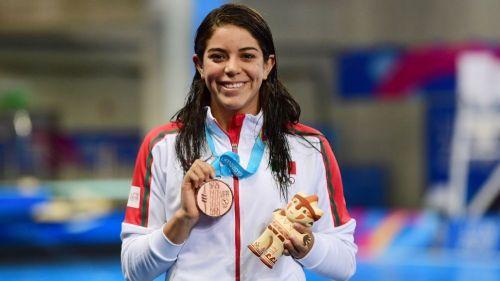 Alejandra Orozco en los Juegos Panamericanos de Lima 2019