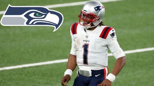 NFL: Seahawks buscaría a Cam Newton como sustituto de Russell Wilson