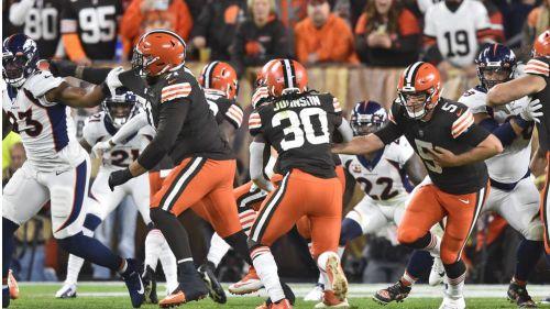 Acciones entre los Browns y Denver