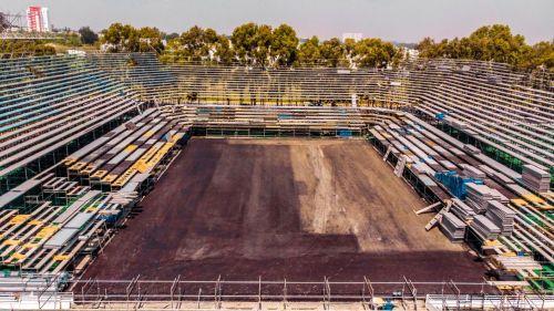 WTA Finals: Estadio de Guadalajara con 80 por ciento de su construcción a 15 días del evento