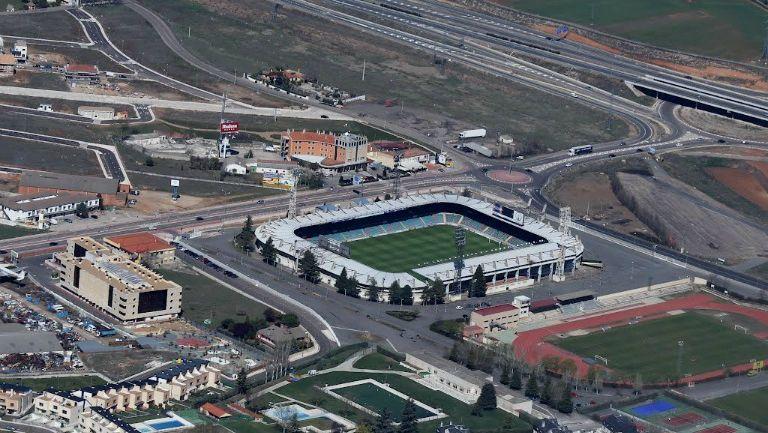 Vista aérea del Estadio Helmántico