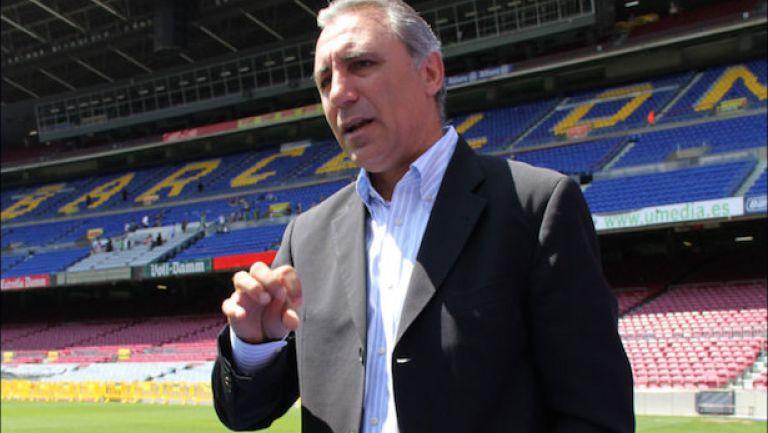 Stoichkov, en Camp Nou