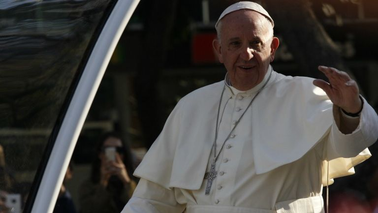 Papa Francisco en Paseo de la Reforma
