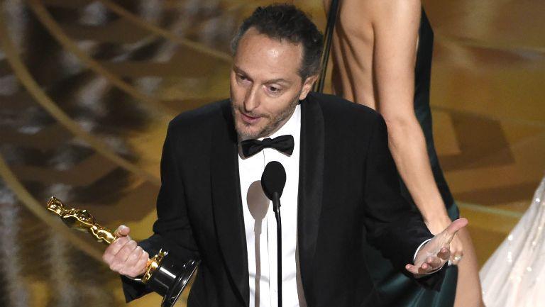 Lubezki luego de lograr su tercer Oscar