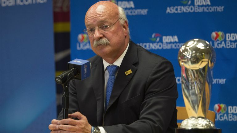 Bonilla, en conferencia de prensa de Liga MX