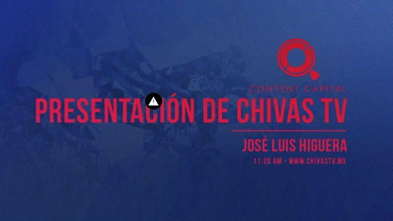 Transmisión de Chivas TV se cae