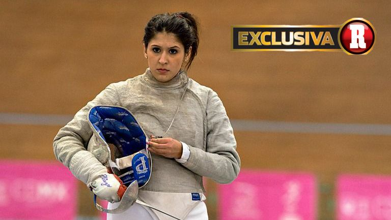 Paola Pliego previo a una competencia