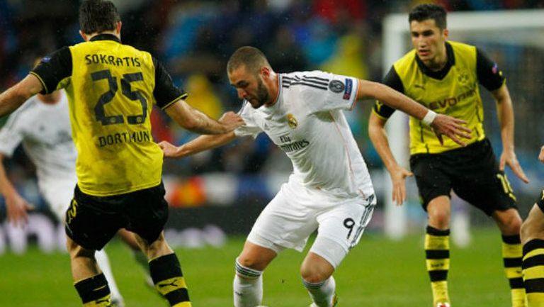 Duelo entre Borussia Dortmund y Real Madrid