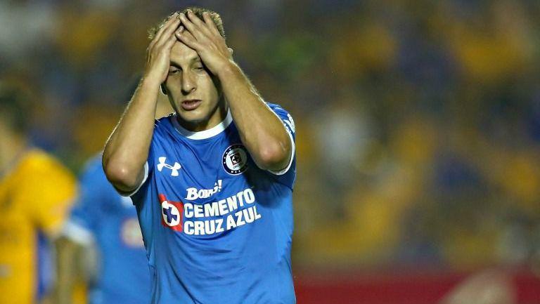 Chaco se lamenta durante el partido frente a Tigres