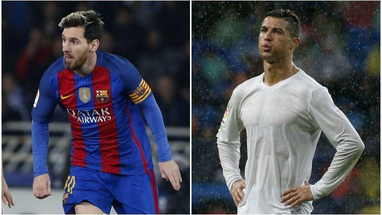 Messi y CR7, en partidos con sus equipos