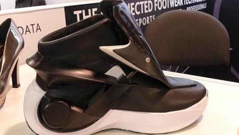 Así luce el smartshoe, que se autoajusta a tus pies