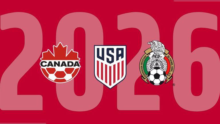 Escudos de las selecciones de México, Canadá y EU