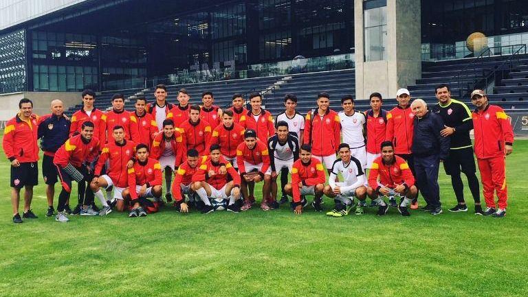 El equipo de la UAG, previo al duelo de Semifinales