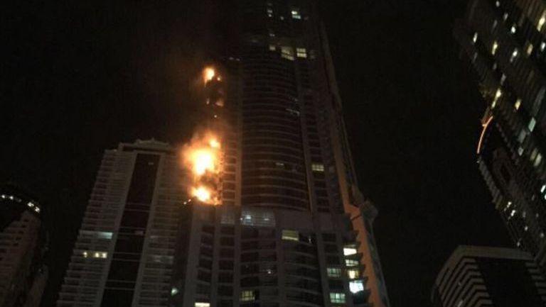 Torre Torch se incendió en la madrugada del viernes en Dubai