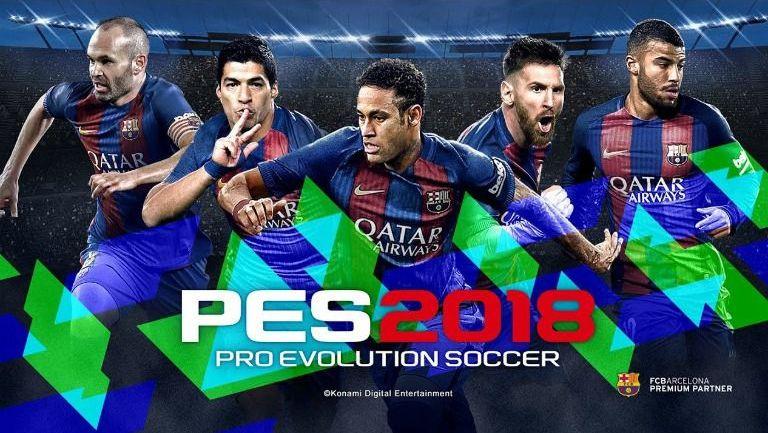 Neymar en la portada edición especial del PES 2018