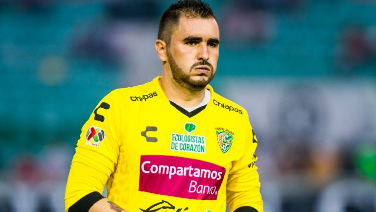 Liborio Sánchez se lamenta en un partido con el extinto Jaguares