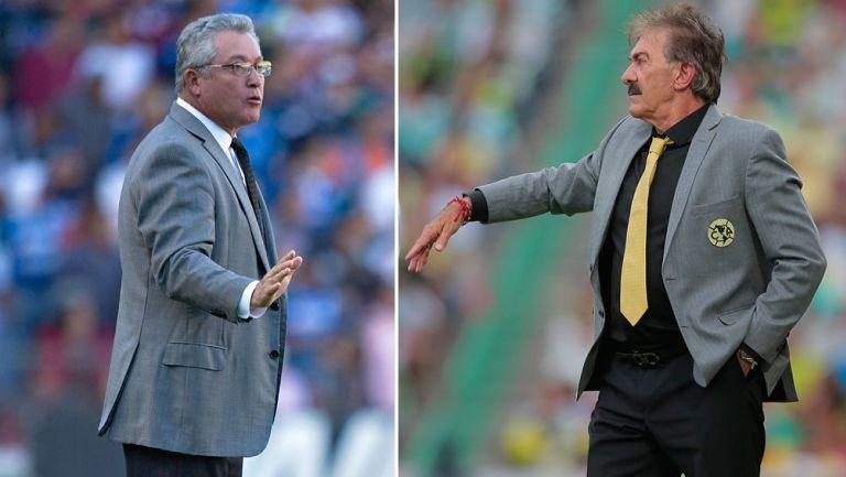 Vucetich y La Volpe dirigiendo en la Liga MX
