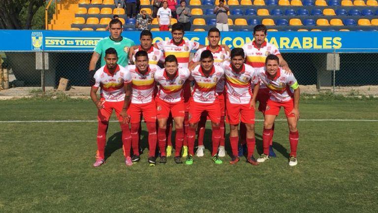 Deportivo Tepic previo a un partido