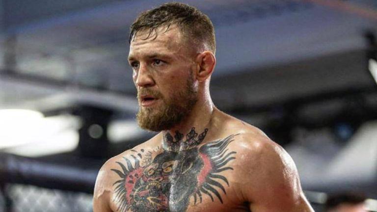 McGregor en un entrenamiento