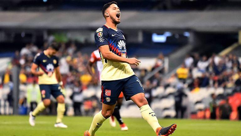 Bruno Valdez se lamenta en juego del América