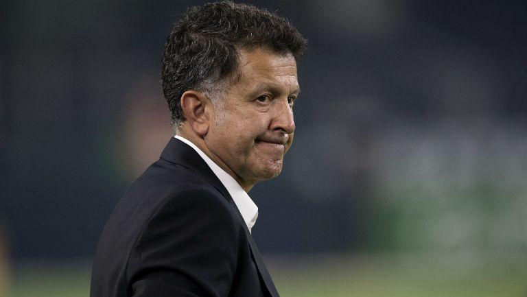 Osorio, durante un juego del Tri rumbo al Mundial de Rusia 2018