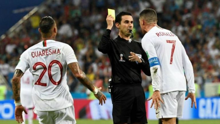 Ramos amonesta a Cristiano en el Mundial