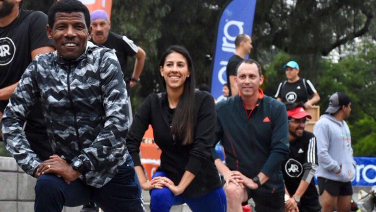 Gebrselassie y runners se preparan rumbo al Maratón de la CDMX