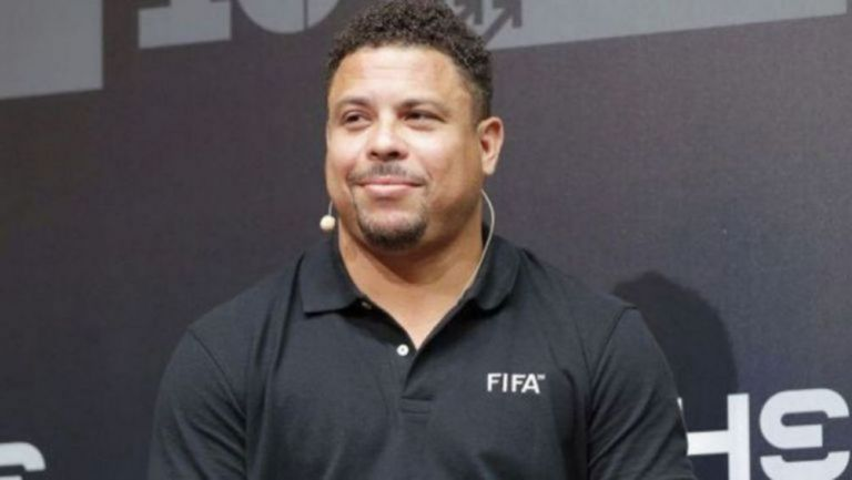 Ronaldo Nazário, en una reunión de FIFA