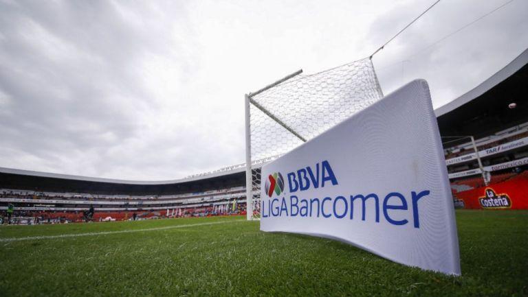 Cancha del estadio Corregidora