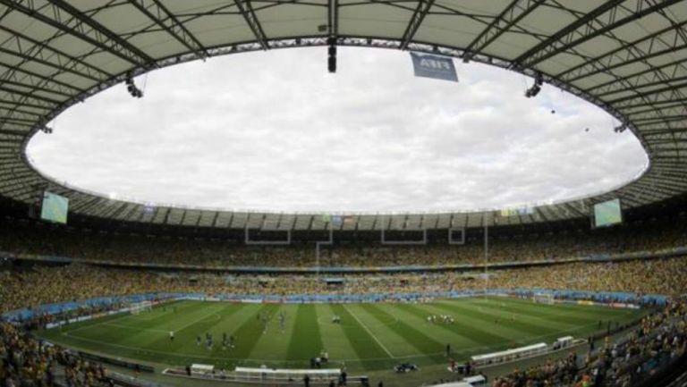 El estadio Mineirao de Brasil