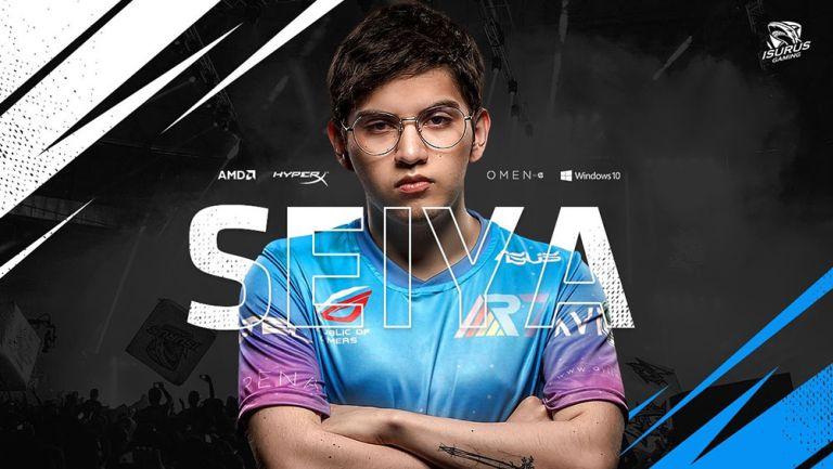 Llamado de Isurus Gaming que anunció la incorporación de Seiya