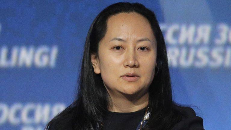 Wanzhou Meng directora de finanzas de Huawei