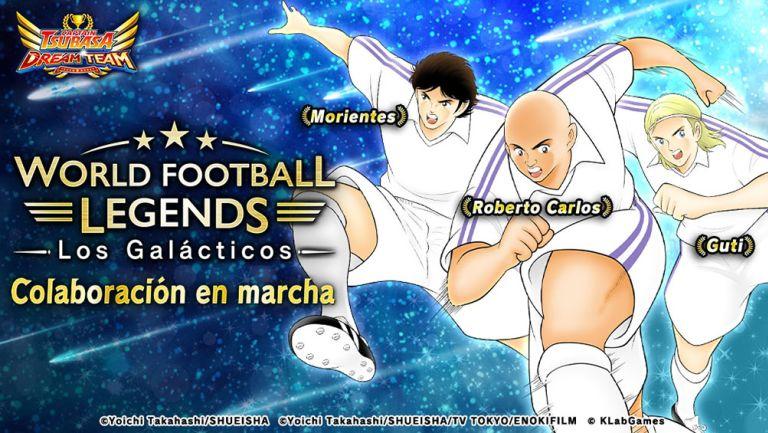 Morientes, Roberto Carlos y Guti son las estrellas invitadas de forma temporal