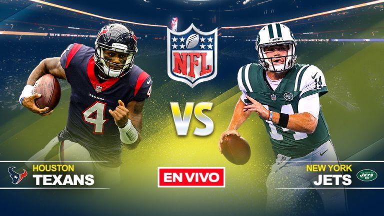 EN VIVO Y EN DIRECTO: Texans vs Jets