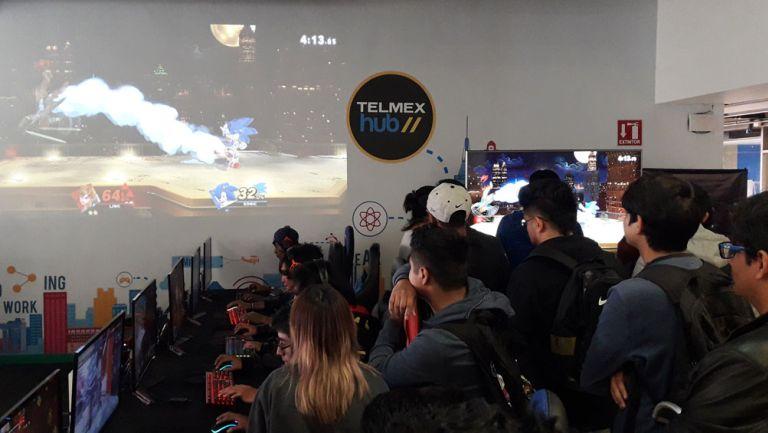 El TelmexHub se llenó de buen ambiente entre la comunidad gamer