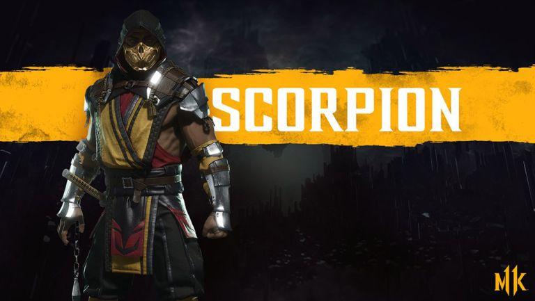 Así lucirá Scorpion en Mortal Kombat 11