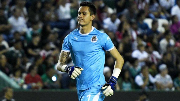 Raúl Gudiño lamenta derrota de Chivas