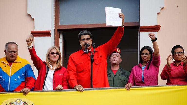 Nicolás Maduro da mensaje contra oposición