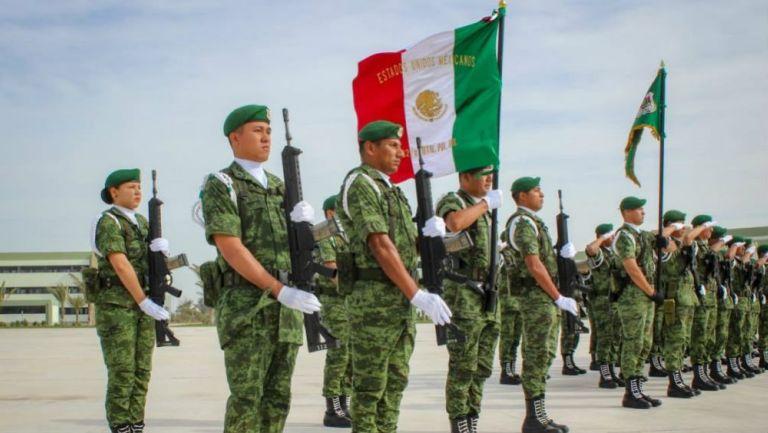 Elementos del Ejército de México