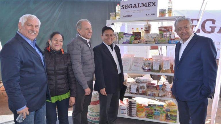 Andrés Manuel López Obrador, en presentación de nueva canasta básica
