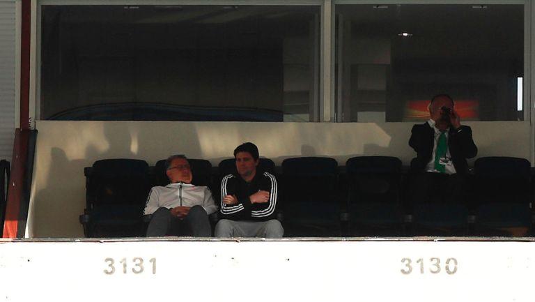 'Tata' Martino en el Estadio Azteca