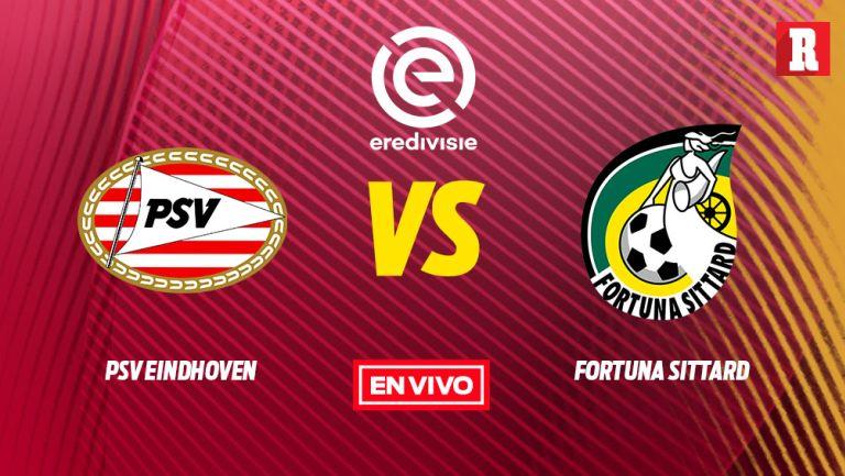 EN VIVO y EN DIRECTO: PSV vs Fortuna Sittard