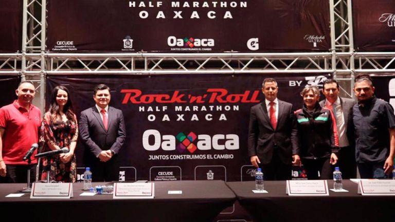 Alejandro Murat presenta los detalles del Rock N' Roll Half Marathon