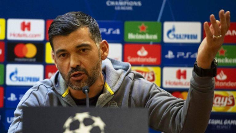 Conceiçao habla en conferencia  previo al juego vs la Roma