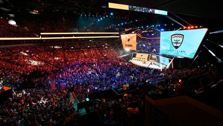 El Barclays Center albergó la Gran Final de la temporada inaugural de la OWL