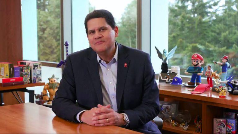Reggie dio el mensaje a través de las redes de Nintendo