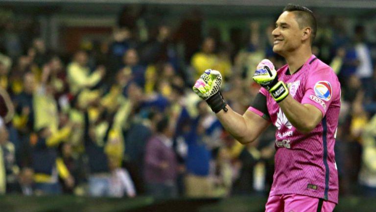 Moisés Muñoz en su etapa como portero del América