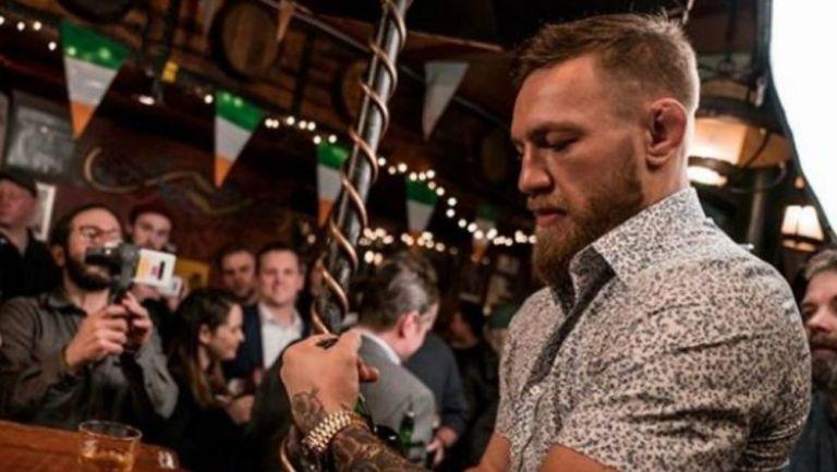 McGregor, en un evento